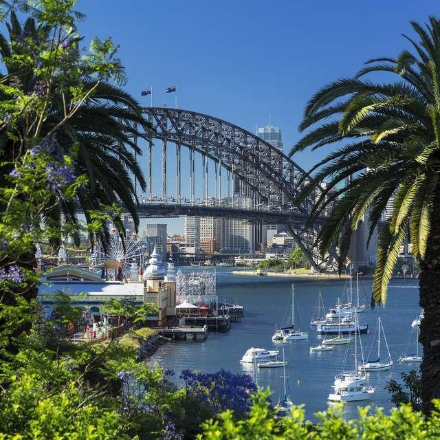 Voyage en Australie - Harbour Bridge, Sydney