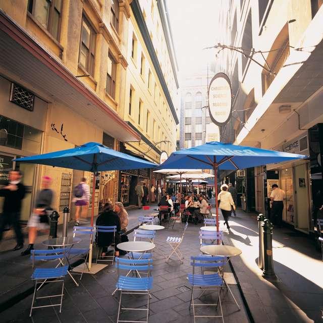 Voyage en Australie - Café à Melbourne