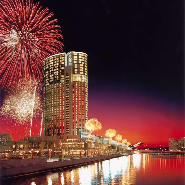 Voyage en Australie - Melbourne de nuit