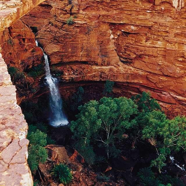 Voyage en Australie - Kings Canyon, le Centre Rouge