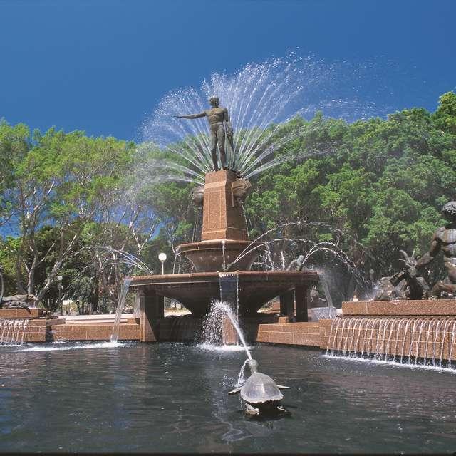 Voyage en Australie - Hyde Park, Sydney