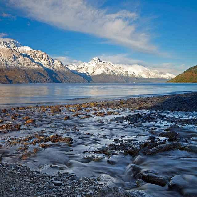 Voyage en Australie - Lac Wakatipu, Nouvelle-Zélande