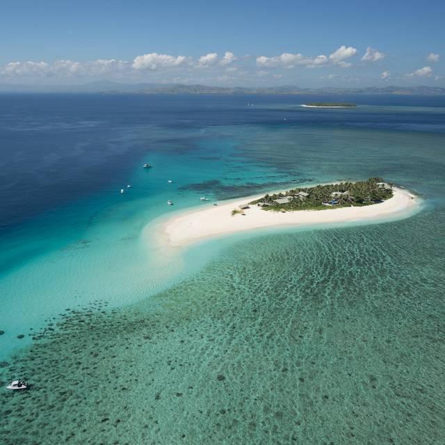 Voyage aux Îles Fidji - Lagon vu du ciel