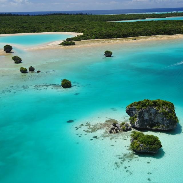 Voyage en Nouvelle Calédonie - Terre d'Outre Mer - Baie d'Upi Ile des Pins