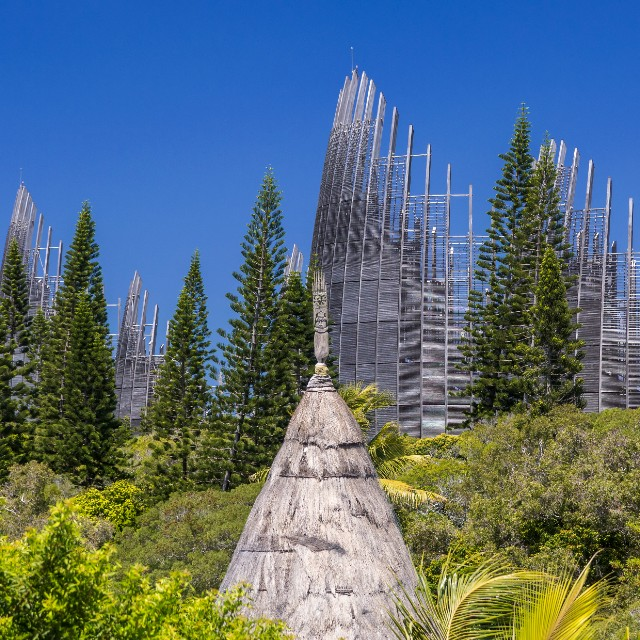 Voyage en Nouvelle Calédonie - Terre d'Outre Mer - Centre Culturel Tjibaou Nouméa
