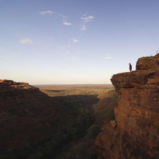 Kings Canyon, Centre Rouge - Voyage en Australie