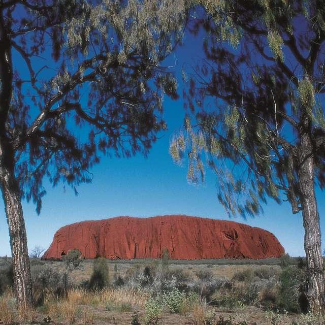 Ayers Rock, Centre Rouge - Voyage en Australie