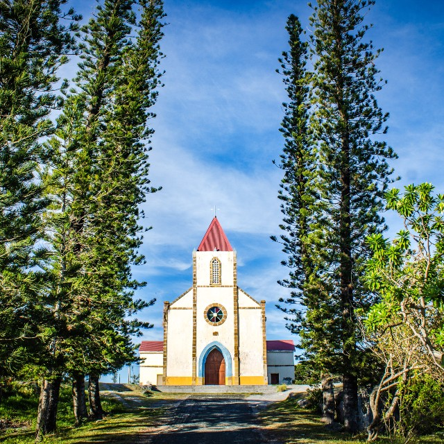 Voyage en Nouvelle Calédonie - Séjour à Ouvéa - Eglise de Mouli