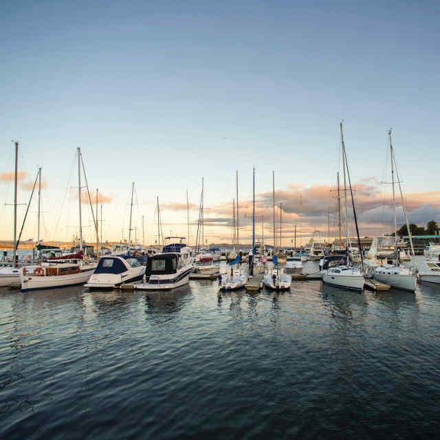 Kings Pier Marina - Hobart - Voyage en Tasmanie - escale à hobart