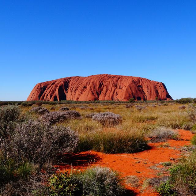 Voyage de noces en Australie - Ayers Rock