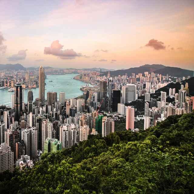Tour du Monde de Hong Kong à Los Angeles - Hong Kong