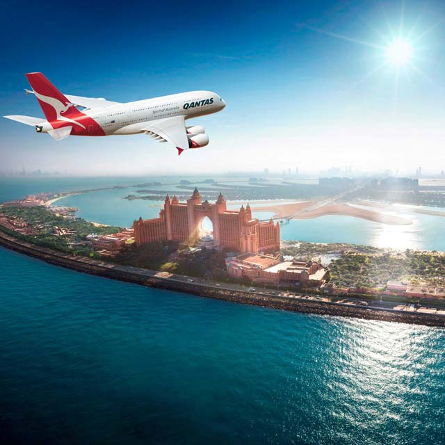 Stop over à Dubaï avec Qantas Airways - compagnie australienne