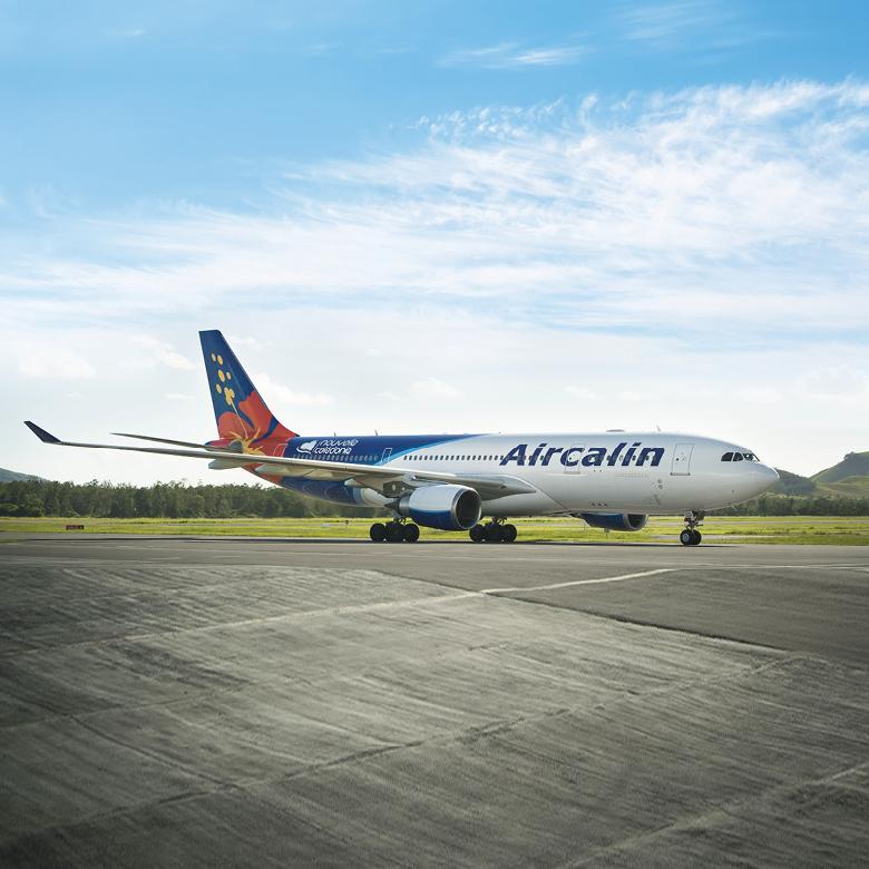 avion aircalin nouvelle calédonie