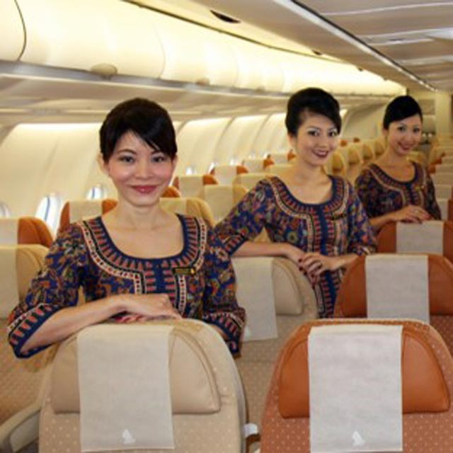 services à bord singapore airlines