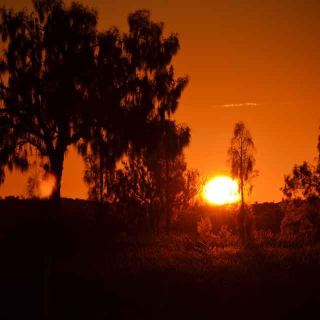 Circuit à la carte en Australie - Lever de soleil