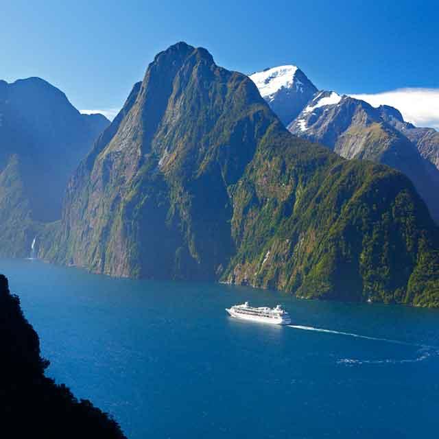 Milford Sound, Voyage Nouvelle-Zélande