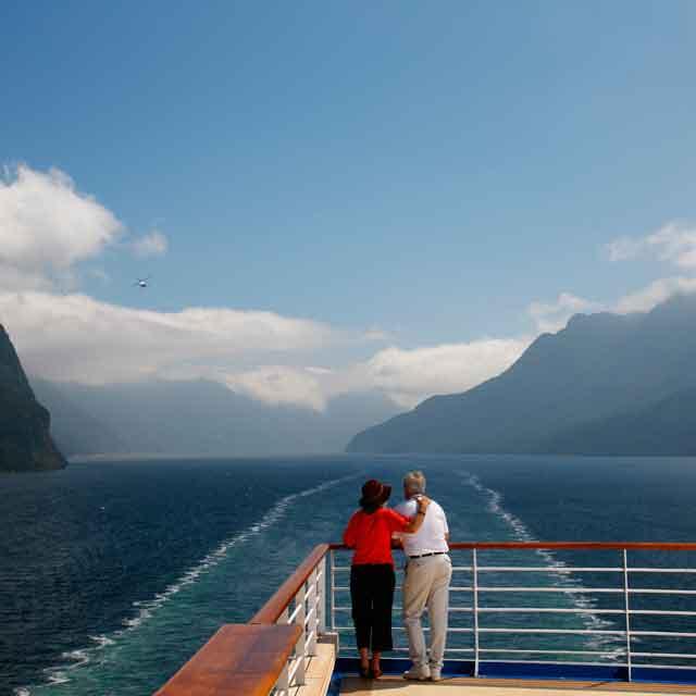 Couple à Milford Sound