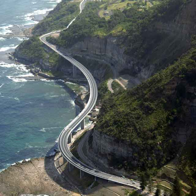 sea cliff bridge, Australie