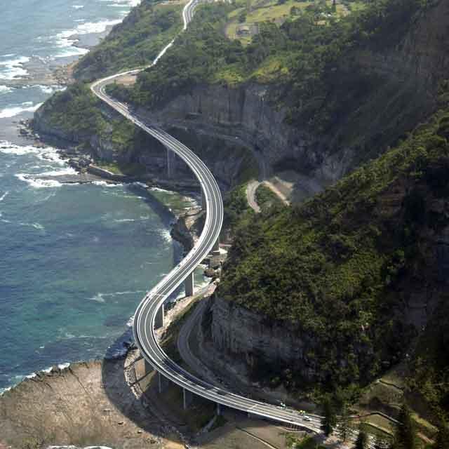 sea cliff bridge, Australie
