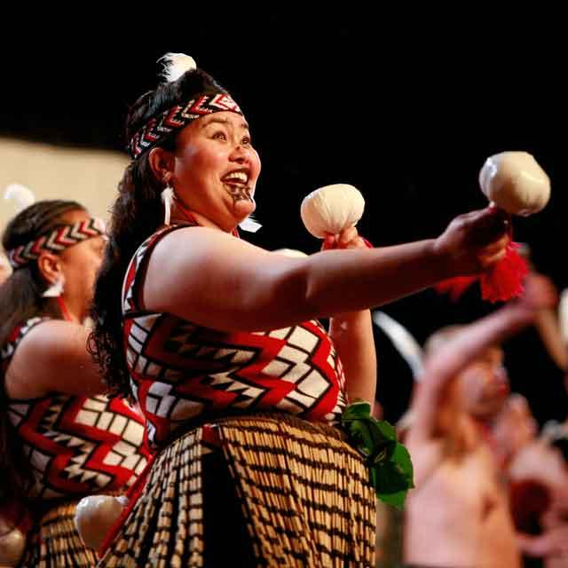 danse maorie, Nouvelle-Zélande