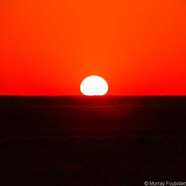 Voyage Australie - Lever du soleil