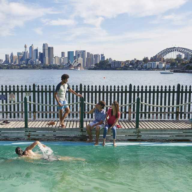 Voyage en Australie - Sydney, Maccallum Pool
