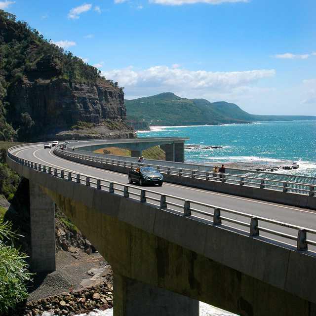Voyage à Sydney - Sea Cliff Bridge
