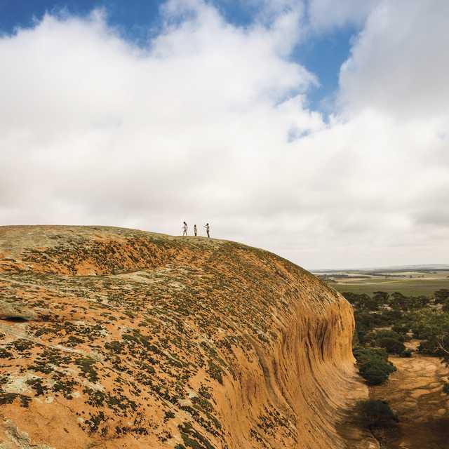Autotour en Australie - Pildappa Rock