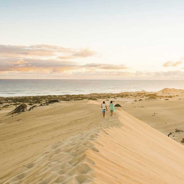 Autotour en Australie - Gunyah Dunes, Coffin Bay