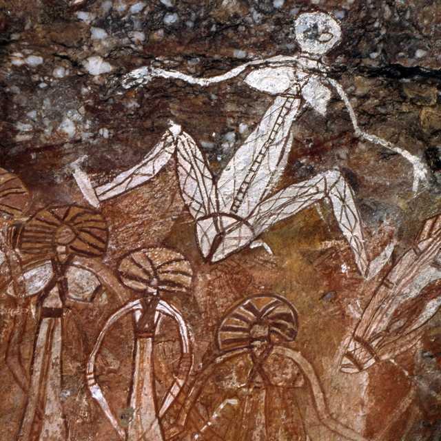 Camping en Australie - Art aborigène