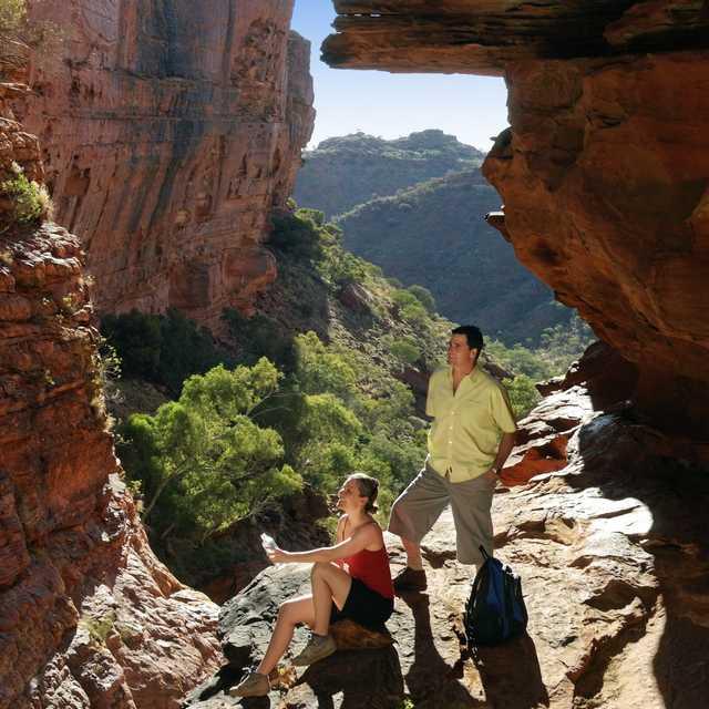 Voyage dans le Centre Rouge - Kings Canyon