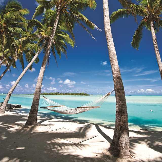 Voyage aux Îles Cook - Plage