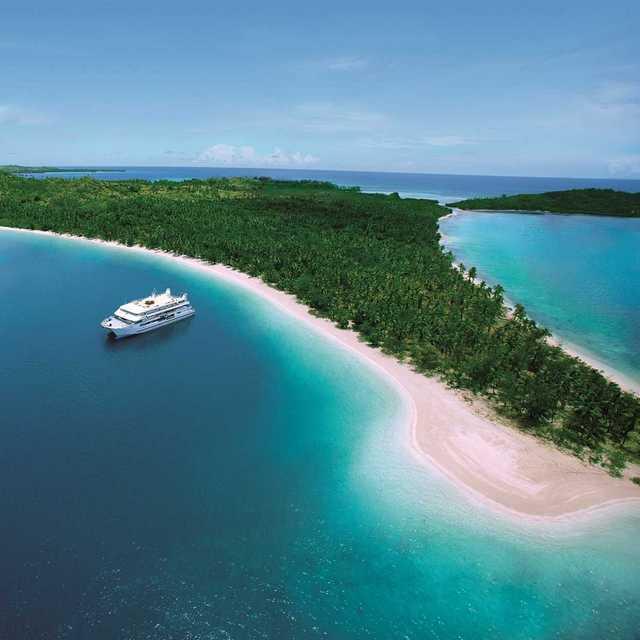 croisière aux Fidji - Blue Lagoon