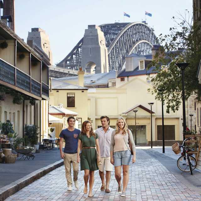 Voyage guidé en Australie - Sydney, The Rock