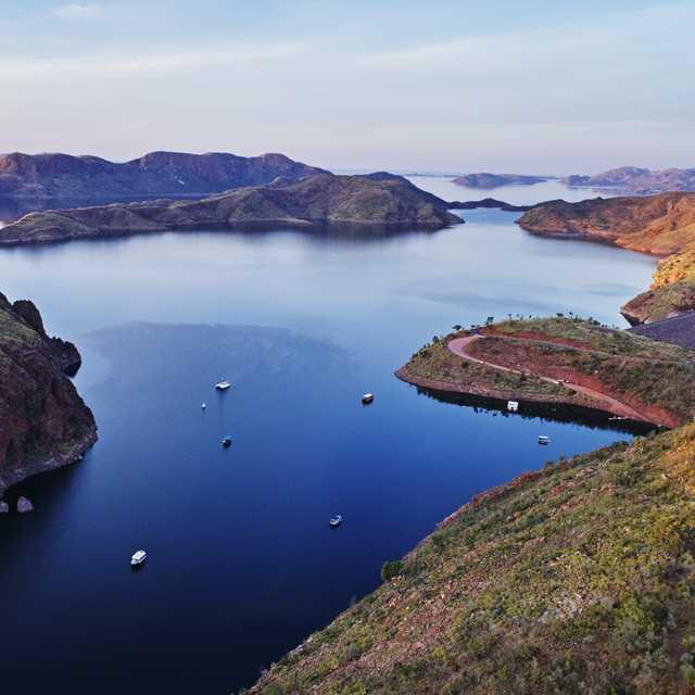 Voyage guidé en Australie - Lake Argyle, Kununurra