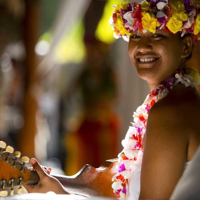 Voyage en Polynésie Francaise - Polynésienne