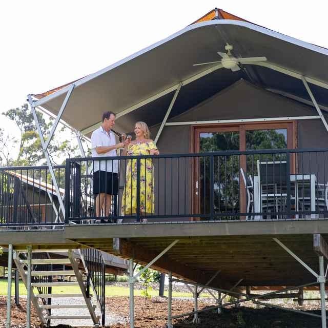 Glamping en Australie - Sanctuary by Sirromet