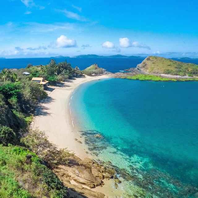 Hôtel sur la Grande Barrière de corail - Pumpkin Island