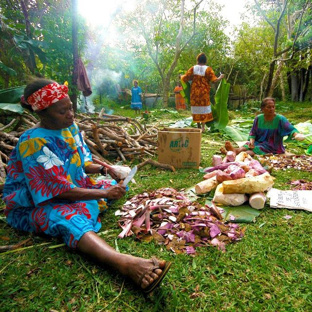 Voyage en Nouvelle Calédonie - Connaissance de Nouvelle Calédonie - Bougna Kanak