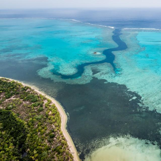 Voyage en Nouvelle Calédonie - Connaissance de Nouvelle Calédonie - Faille aux requins Bourail